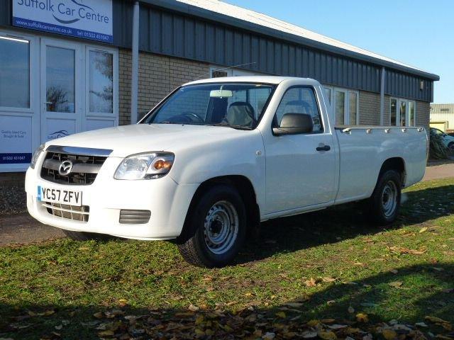 2007 57 MAZDA BT-50 2.5 4X2 SINGLE CAB P/U 1d 141 BHP