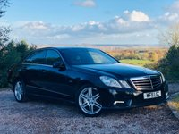 2011 MERCEDES-BENZ E CLASS 3.0 E350 CDI BLUEEFFICIENCY SPORT 4d AUTO 265 BHP £9485.00
