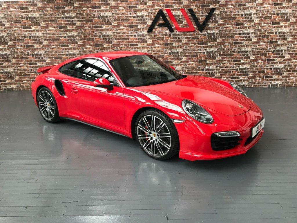 USED 2013 63 PORSCHE 911 3.8 TURBO PDK 2d AUTO 520 BHP