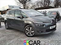USED 2014 14 CITROEN C4 GRAND PICASSO 1.6 E-HDI AIRDREAM EXCLUSIVE PLUS ETG6 5d AUTO 113 BHP 1 PREVIOUS OWNER +FULLY LOADED
