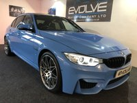 2016 BMW M3 3.0 M3 COMPETITION PACKAGE 4d AUTO 444 BHP £41699.00