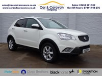 USED 2012 12 SSANGYONG KORANDO 2.0 ES 5d 175 BHP All Mazda History Huge Spec Buy Now, Pay Later!