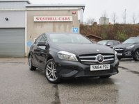 2014 MERCEDES-BENZ A CLASS 1.5 A180 CDI BLUEEFFICIENCY SPORT 5d 109 BHP £11950.00
