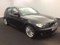 2010 BMW 1 SERIES 2.0 118D M SPORT 5d AUTO 141 BHP £6985.00
