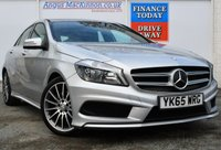 USED 2015 65 MERCEDES-BENZ A CLASS 2.1 A220 CDI BLUEEFFICIENCY AMG SPORT 5d AUTO 170 BHP 2 FORMER KEEPERS