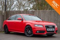 USED 2009 09 AUDI A4 3.0 TDI QUATTRO DPF S LINE 4d 240 BHP £0 DEPOSIT BUY NOW PAY LATER - FULL SERVICE HISTORY