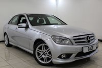 USED 2011 11 MERCEDES-BENZ C CLASS 2.1 C220 CDI BLUEEFFICIENCY SPORT 4DR 170 BHP MERCEDES SERVICE HISTORY + HALF LEATHER SEATS + BLUETOOTH + PARKING SNESOR + CRUISE CONTROL + CLIMATE CONTROL + MULTI FUNCTION WHEEL + RADIO/CD + ELECTRIC WINDOWS + 17 INCH ALLOY WHEELS