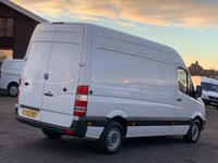USED 2014 63 MERCEDES-BENZ SPRINTER 2.1 313 CDI MWB FACELIFT HIGH ROOF MWB, ONE OWNER,FULL DEALER HISTORY, ONLY 51,000 MILES,