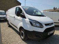 2013 FORD TRANSIT CUSTOM 290 100PS BASE  L2 H1 VAN £10250.00