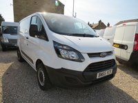 2015 FORD TRANSIT CUSTOM 290 100PS BASE  L1 H1 VAN £9250.00