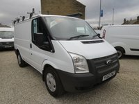2012 FORD TRANSIT 100T 280 ECONETIC 2.2TDCi SWB VAN WITH ROOF RACK AND VAN VAULT £7495.00
