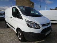 2014 FORD TRANSIT CUSTOM 270 100PS BASE  L1 H1 VAN £9495.00