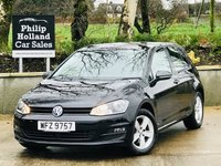 2015 VOLKSWAGEN GOLF 1.6 MATCH TDI BLUEMOTION TECHNOLOGY 5d 103 BHP £11295.00