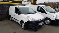 2013 VAUXHALL COMBO 2000 1.3CDTI S/S ECOFLEX 90 BHP L1H1 VAN WITH AIR-CON! £4995.00
