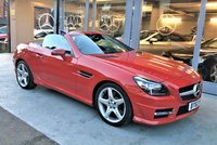 2013 MERCEDES-BENZ SLK 1.8 SLK200 BLUEEFFICIENCY AMG SPORT 2d AUTO 184 BHP £14995.00