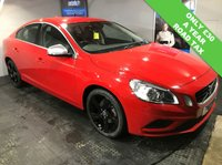 USED 2013 13 VOLVO S60 2.0 D3 R-DESIGN 4d 134 BHP Bluetooth   :   DAB Radio  : R-Design T-Tec and cloth upholstery   :   R-Design steering wheel   :   Heated front seats   : Volvo City Safety system   :   Rear parking sensors   :   Fully stamped service history
