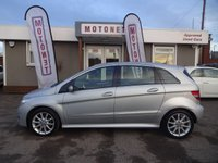 USED 2007 57 MERCEDES-BENZ B CLASS 2.0 B180 CDI SE 5DR AUTOMATIC DIESEL 108 BHP FREE 12 MONTH WARRANTY UPGRADE