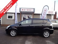 USED 2008 58 TOYOTA COROLLA 2.2 VERSO SR D-4D 5DR DIESEL 135 BHP MANAGERS SPECIAL PRICE +++FEBRUARY SALE NOW ON+++