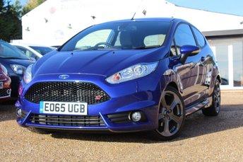 2015 FORD FIESTA 1.6 ST-3 3d 180 BHP £11950.00