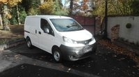 2013 NISSAN NV200 1.5 SE DCI REAR CAMERA £4850.00