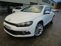 USED 2014 14 VOLKSWAGEN SCIROCCO 2.0 GT TDI BLUEMOTION TECHNOLOGY 2d 140 BHP Excellent Condition, FSH, Low Rate Finance Available, No Deposit Necessary