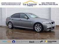 USED 2009 59 BMW 3 SERIES 2.0 318D M SPORT 4d 141 BHP Full Service History Air Con Buy Now, Pay Later Finance!