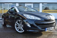 USED 2010 60 PEUGEOT RCZ 1.6 THP GT 2d 156 BHP NO DEPOSIT FINANCE AVAILABLE