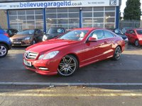 2012 MERCEDES-BENZ E CLASS 2.1 E250 CDI BLUEEFFICIENCY S/S SPORT 2d AUTO 204 BHP £12499.00
