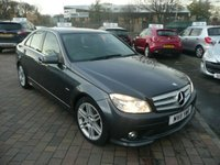 2011 MERCEDES-BENZ C CLASS 2.1 C200 CDI BLUEEFFICIENCY SPORT 4d AUTO 136 BHP £SOLD