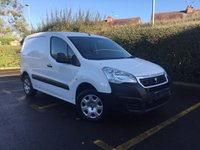 USED 2015 65 PEUGEOT PARTNER 1.6 HDI SE L1 850  Parking Sensors, 3 Seats, Load Through Bulkhead