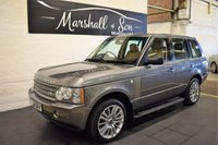 USED 2009 09 LAND ROVER RANGE ROVER 3.6 TDV8 VOGUE 5d AUTO 272 BHP LOVELY CONDITION - NAV - TV - R/CAMERA - XENONS - 8 STAMPS TO 84K MILES