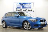 2013 BMW 1 SERIES 2.0 118D DIESEL M SPORT 5 DOOR 141 BHP £11990.00