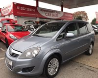 2011 VAUXHALL ZAFIRA 1.6 EXCITE 5d 113 BHP *ONLY 53,000 MILES* £4995.00