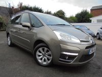 USED 2011 61 CITROEN C4 GRAND PICASSO 1.6 VTR PLUS HDI EGS 5d AUTO 110 BHP AUTOMATIC 7 SEATER WITH LOW LOW MILES