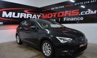 2015 SEAT LEON 1.6 TDI ECOMOTIVE SE TECHNOLOGY MIDNIGHT BLACK £8695.00