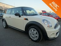 USED 2011 11 MINI HATCH FIRST 1.6 FIRST 3d 75 BHP