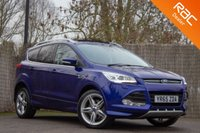USED 2015 65 FORD KUGA 2.0 TITANIUM X SPORT TDCI 5d 148 BHP £0 DEPOSIT BUY NOW PAY LATER - FULL SERVICE HISTORY - 1 OWNER