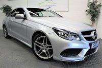 2013 MERCEDES-BENZ E CLASS 2.1 E220 CDI AMG SPORT 2d AUTO 170 BHP £12990.00