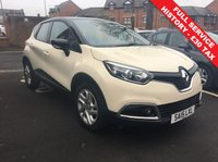 USED 2015 15 RENAULT CAPTUR 0.9 DYNAMIQUE MEDIANAV ENERGY TCE S/S 5d 90 BHP EXCELLENT SPECIFICATION!!..ONLY 9088 MILES AND FULL HISTORY!..CHEAP TO RUN , LOW CO2 EMISSIONS, £30 ROAD TAX AND EXCELLENT FUEL ECONOMY! EXCELLENT SPECIFICATION CLIMATE CONTROL, SATELLITE NAVIGATION, 17INCH ALLOY WHEELS, AND AUXILIARY INPUT/USB! ALL OF OUR VEHICLES MEET LARGE CITY EMISSION STANDARDS!