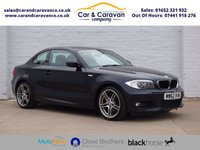 USED 2013 62 BMW 1 SERIES 3.0 125I SPORT PLUS EDITION 2d 215 BHP Service History Leather AirCon Buy Now, Pay Later Finance!