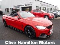 USED 2016 66 BMW 4 SERIES 3.0 430D M SPORT 2d AUTO 255 BHP HEADSCARF & CAMERA