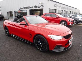 2016 BMW 4 SERIES 3.0 430D M SPORT 2d AUTO 255 BHP HEADSCARF & CAMERA £22995.00
