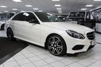USED 2016 16 MERCEDES-BENZ E CLASS 3.0 E350 AMG NIGHT EDITION PREMIUM AUTO BLUETEC 255 BHP DIAMOND WHITE! PAN ROOF FMBSH!