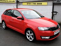 USED 2014 14 SKODA RAPID 1.2 SPACEBACK SE TSI 5d 85 BHP * FREE DELIVERY & WARRANTY *
