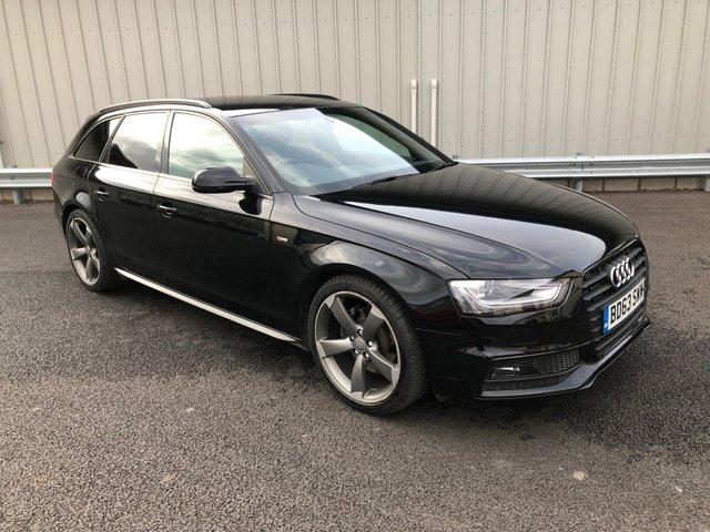 2014 63 AUDI A4 2.0 AVANT TDI S LINE BLACK EDITION AUTO 148 BHP ESTATE