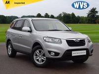 USED 2011 HYUNDAI SANTA FE CRDi 2.2 Automatic 1 driver from new, first registered in the Isle of Man on 14th January 2011 this is a Hyundai Santa Fe 2.2crdi 5dr 4x4 AUTOMATIC 5 seat in silver metallic with just 65000 miles. Supplied with 2 keys, a comprehensive service history (with 8 stamps in the book) and an independent AA inspection report. A superb family car for £8999.