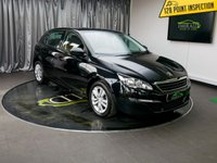 USED 2014 64 PEUGEOT 308 1.6 HDI ACTIVE 5d 92 BHP £0 DEPOSIT FINANCE AVAILABLE, AIR CONDITIONING, BLUETOOTH CONNECTIVITY, CLIMATE CONTROL, CRUISE CONTROL, DAB RADIO, DAYTIME RUNNING LIGHTS, PEUGEOT CONNECT, SATELLITE NAVIGATION, SPEED LIMITER, STEERING WHEEL CONTROLS, TRIP COMPUTER, USB CONNECTION