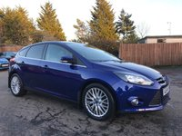 2014 FORD FOCUS 1.6 TDCI ZETEC NAVIGATOR 5d VERY LOW MILEAGE EXAMPLE AND IT PARKS ITSELF!! £7500.00