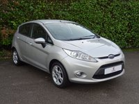USED 2012 62 FORD FIESTA 1.4 ZETEC 16V 5d 96 BHP Main Dealer Service History, Low Mileage, Air Conditioning, Bluetooth, Heated Front + Rear Screen, Tinted Glass, Low Insurance Group 8, Excellent First Car, Electric Windows, Electric Mirrors, Spare Key, Drive Away In Under 1 Hour
