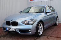 USED 2012 12 BMW 1 SERIES 1.6 116I SPORT 5d 135 BHP DEALER FULL SERVICE HISTORY